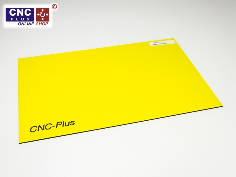 Rotary and Laser Engraving Plastic Engraving-Laminate yellow / black  sc 1 st  CNC-Plus & Rotary and Laser Engraving Plastic 200x300mm Engraving Plates.